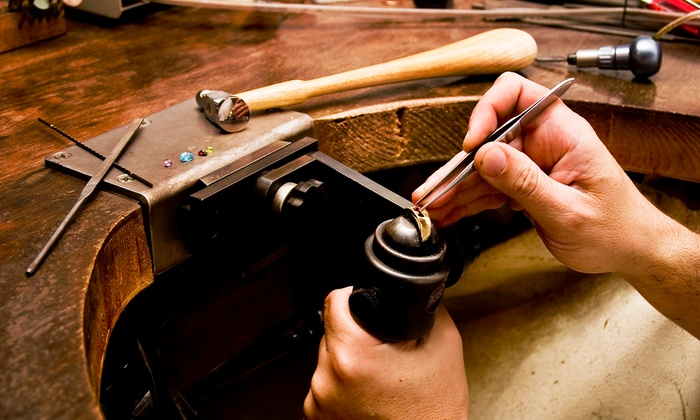 The Den - Stockyards: Build-Your-Own Ring Workshop for One or Two at The Den (Up to 52% Off)