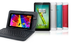"""Kocaso 4gb 3g 7"""" Android Tablet Bundle With Keyboard Case (gsm Unlocked)"""