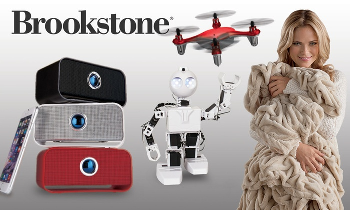 Brookstone: $25 for $50 Worth of Products from Brookstone