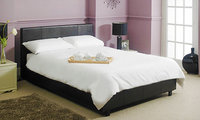 Groupon Goods Global GmbH: Bed With Mattress and Duvet Set from £249.95 With Free Delivery (Up to 65% Off)