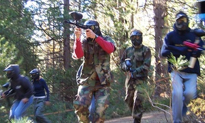 Force 10 Paintball: Force 10 Paintball: Game Play With Lunch and 100 Rounds Each from £10