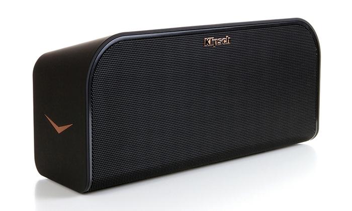 klipsch bluetooth speaker. klipsch kmc 3 portable bluetooth wireless music system: speaker v