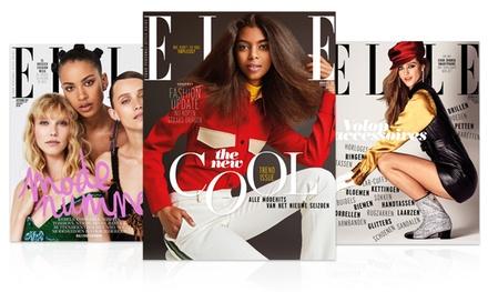 6, 10 of 12 nummers ELLE Magazine, je abonnement stopt automatisch
