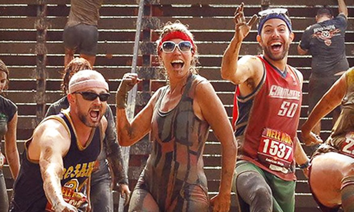 Hell Run - Hawthorne Race Course: $49 for Hell Run Entry at Hawthorne Race Course on Saturday, August 31 (Up to $85 Value)