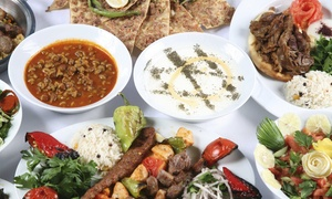 Nargile: Ziyafet Sofrasi Evening Meal for Two or Four at Nargile (Up to 52% Off)