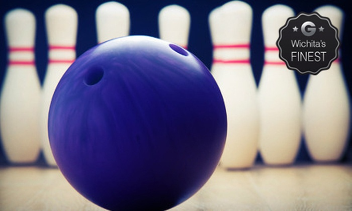Northrock Lanes - Wichita: Two Hours of Bowling with Shoe Rental for Four or Six at Northrock Lanes (Up to 58% Off)