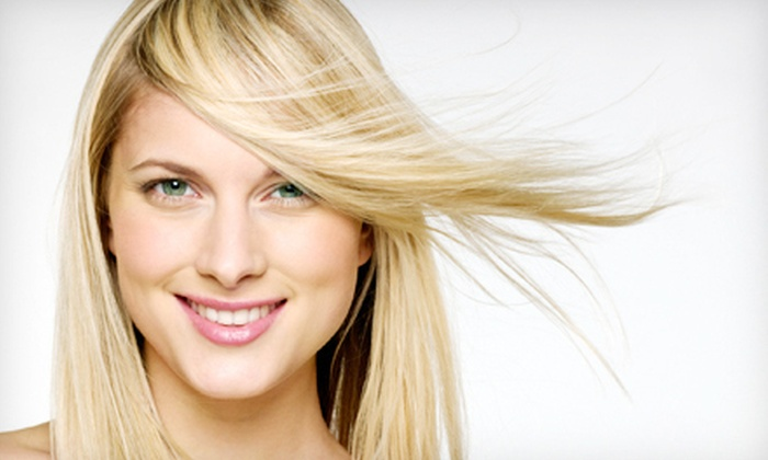 Pure glo Salon - Pure Glo Salon: Keratin Treatment or Salon Package with Deep-Conditioning Treatment at Pure glo Salon in Shelby Township (Up to 67% Off)
