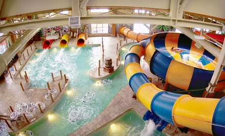 St Catharines-Niagara: One- or Two-Night Stay with Water-Park Passes at Great Wolf Lodge Niagara Falls in Niagara Falls, ON