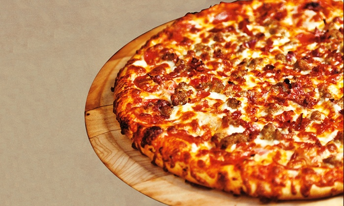 Canyon Pizza - Anaheim Hills: Pizza at Canyon Pizza (Up to 45% Off). Four Options Available.
