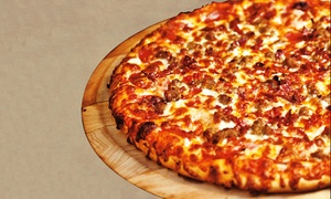 Canyon Pizza: Pizza at Canyon Pizza (Up to 45% Off). Four Options Available.