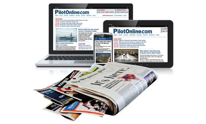 """The Virginian-Pilot - South Hampton Roads: One-Year Home Subscription to """"The Virginian-Pilot"""" (Up to 79% Off)"""