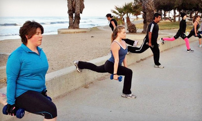 motivFIT - Multiple Locations: 5 or 10 Outdoor Workouts or One Month of Unlimited Outdoor Workouts and Nutrition Guide at motivFIT (Up to 82% Off)