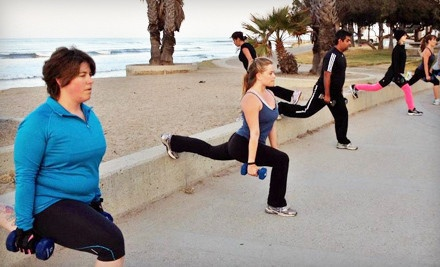 5 or 10 Outdoor Workouts or One Month of Unlimited Outdoor Workouts and Nutrition Guide at motivFIT (Up to 82% Off)