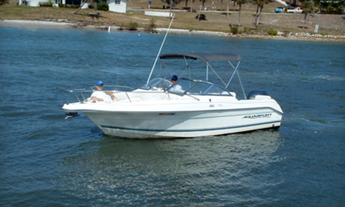 Jupiter Inlet Boat Rentals - Jupiter: Two-Hour, Half-Day, or Full-Day Dual-Console Boat Rental at Jupiter Inlet Boat Rentals (Up to 57% Off)