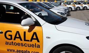 GALA CENTRAL: Carné de coche con 10 o 12 clases prácticas desde 59 € en Autoescuela Gala. 41 centros disponibles.