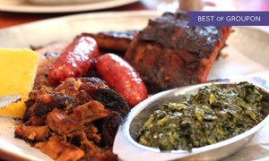 SuzyQue's BBQ & Bar: Up to 47% Off BBQ for Two at SuzyQue's BBQ & Bar