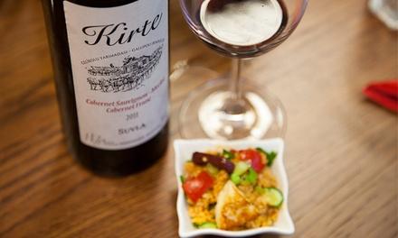 2 Stunden Weinprobe inkl. Mezze-Begleitung und Olivenöl für Zwei bei KochDichTürkisch ab 29,90 € (bis zu 54% sparen*)