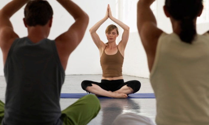 Rock MMA and Yoga - Pembroke Lakes South: 5 or 10 Yoga or Yoga Boot-Camp Classes, or 2 Weeks of Unlimited Classes at Rock MMA and Yoga (Up to 62% Off)