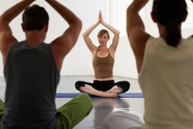 Rock MMA and Yoga: 5 or 10 Yoga or Yoga Boot-Camp Classes, or 2 Weeks of Unlimited Classes at Rock MMA and Yoga (Up to 62% Off)