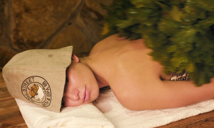Spa 88 - Financial District: Bathhouse Packages for Individuals or Couples (Up to 63% Off). Three Options Available.