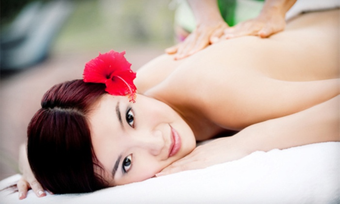 """Jess"" a ""Lill"" Rub by Ruby - Village Center: 60-Minute Swedish or Deep-Tissue Massage or a Pamper Yourself Spa Package at ""Jess"" a ""Lill"" Rub by Ruby (Up to 54% Off)"