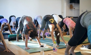 Yoga Mechanics: One Month of Unlimited Yoga or Five Classes at Yoga Mechanics (Up to 74% Off)