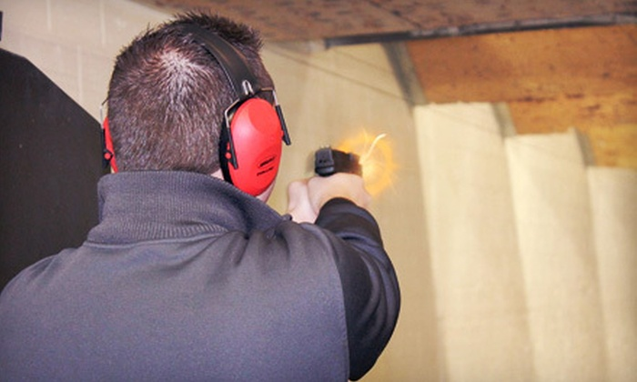 Training Guns and Gear - Watterson Park: One-Hour Shooting Simulation or Shooting-Range Session for Two or Four at Training Guns and Gear (Up to 58% Off)