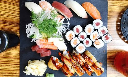 image for Sushi Platter and Miso Soup for Two or Four at Koishii Japanese Restaurant (Up to 44% Off)