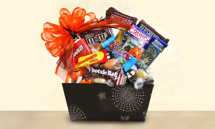 Halloween Gift Basket of Treats | Groupon