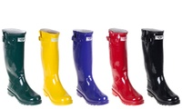 GROUPON: Forever Young Women's Tall Rubber Rain Boots Forever Young Women's Tall Rubber Rain Boots