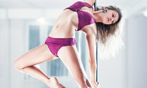 PoleFit Dance Studio: Pole-Dancing Classes at PoleFit Dance Studio (Up to 56% Off). Three Options Available.