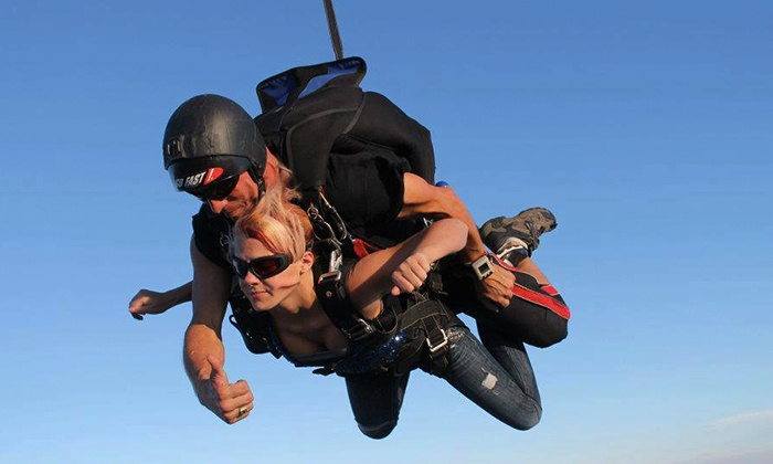 Skydive Philadelphia - Perkasie: One or Two Groupons, Each Good for One Tandem-Skydiving Jump from Skydive Philadelphia (Up to 44% Off)