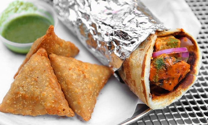 Bombay Wraps - The Loop: Indian Wraps and Drinks at Bombay Wraps (30% Off). Option to Order Online.
