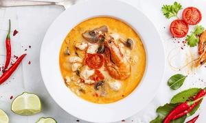 Pak Nam Thai Cuisine: Thai Food for Two or Four at Pak Nam Thai Cuisine (40%Off)