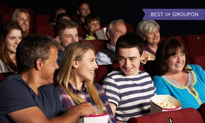 Elvis Cinemas: Half-Price Movie Admission Coupon with Drinks and Popcorn for Two or Four at Elvis Cinemas (Up to 68% Off)