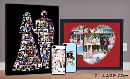 $19.99 for $70 Worth of Custom Photo Products from Collage.com