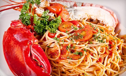 Italian Dinner for Two or Four or Italian Lunch at Casa Mia Trattoria & Pizzeria (Half Off)