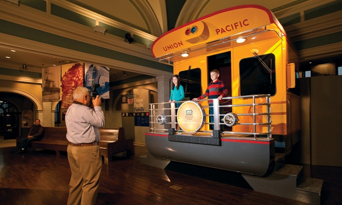 Union Pacific Railroad Museum - Council Bluffs: $25 for One-Year Household Surveyor Membership to Union Pacific Railroad Museum ($50 Value)