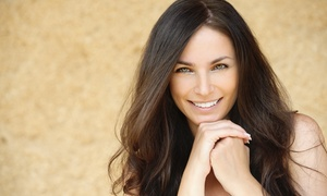 C B Hair Co. : Haircut with Optional Partial Highlights or Pravana Smoothing Treatment at C B Hair Co. (Up to 59% Off)