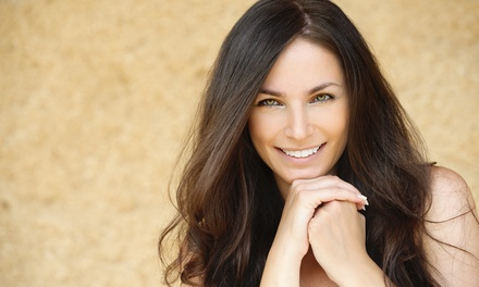 Haircut with Optional Color Retouch or Keratin, or Three Haircuts with Retouch at Soho Studios (Up to 52% Off)