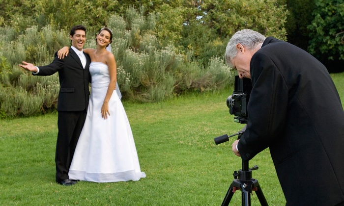 The Paparazzi For Hire - Washington DC: 60-Minute Wedding Photography Package with Retouched Digital Images from The Paparazzi For Hire (70% Off)