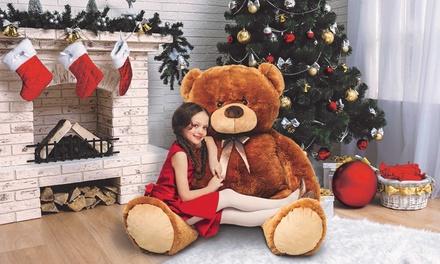 Ours en peluche géants 100 et 150 cm, 2 couleurs disponibles