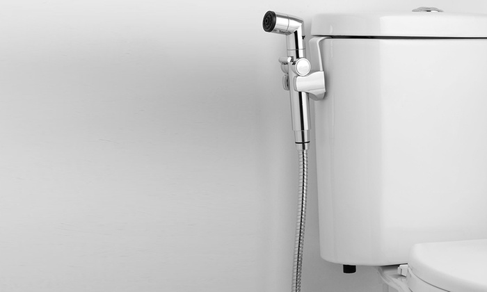 Bio Bidet A1 Handheld Sprayer with Pressure Control | Groupon