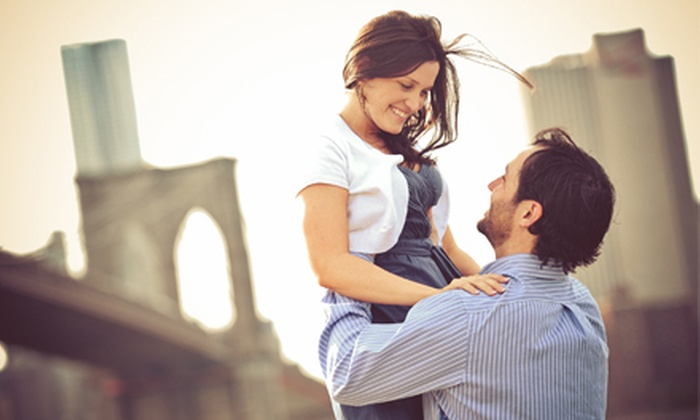 New York Occasion Photography - Melville: $149 for One-Hour On-Location Engagement Photo Shoot with Image DVD from New York Occasion Photography ($500 Value)