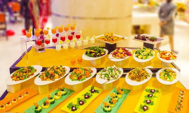 Fantastic Buffet Drinks At Momo Cafe Courtyard By Marriott Interior Design Ideas Clesiryabchikinfo
