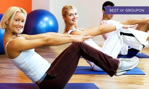 Pendleton Pilates: 5 or 10 Mat or Ball Pilates Classes at Pendleton Pilates (Up to 51% Off)