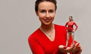 DOOB 3D-STORE BERLIN: Detailgetreue 3D-Scan-Figur vom eigenen Abbild im DOOB 3D-Store Berlin (bis zu 39% sparen*)