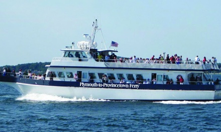 $27 for Admission for One on Plymouth-to-Provincetown Ferry from Provincetown Ferry (Up to $45 Value)