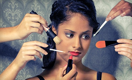 Makeup Lesson and Kit for One or Two or Five-Piece Makeup Kit at The Make-Up Shop (Up to 61% Off)