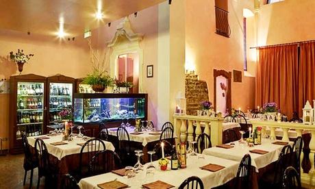Menu Gourmet di mare Fragranze del Mediterraneo per 2 persone al ristorante S. Matteo Church (sconto 48%)